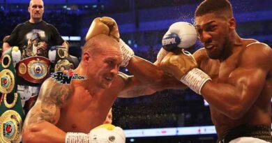 Oleksandr Usyk beats Anthony Joshua to take three Heavyweight title belts