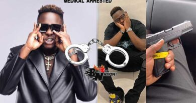 Medikal arrested by Ghana Police